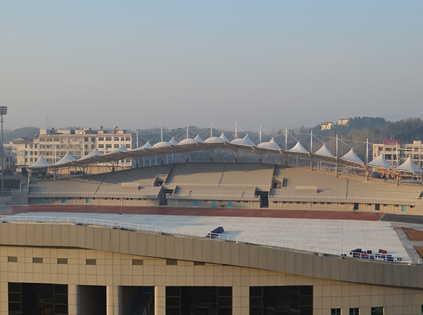 浠水体育中心(膜结构)