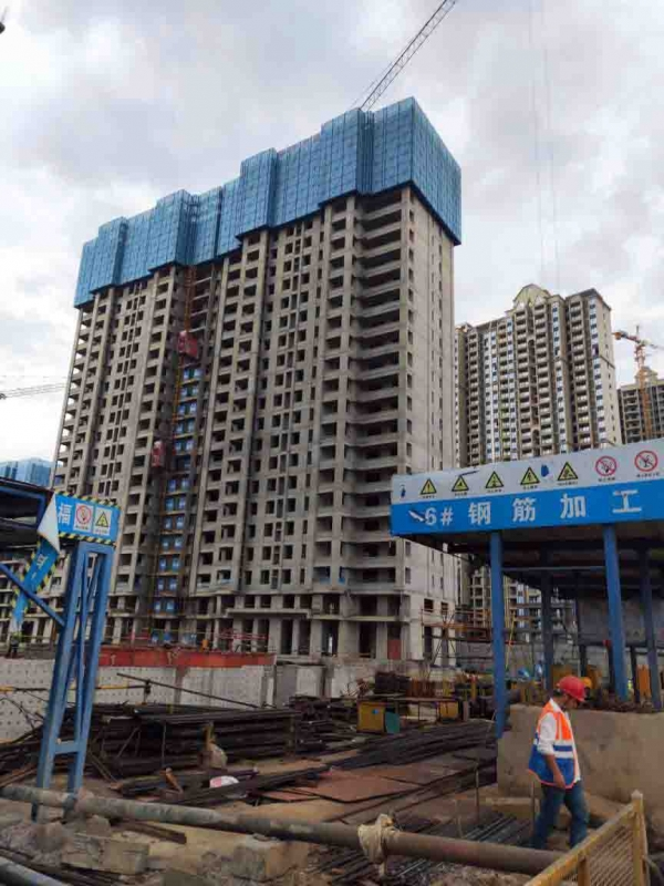 湖南中建锦绣双城一期(在建)